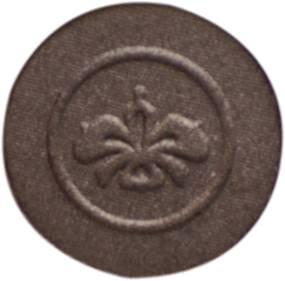 圆形单色印花